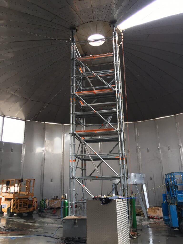 Stage 3 Structure in Operation