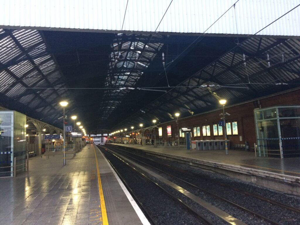 Pearse Station Existing High Roof