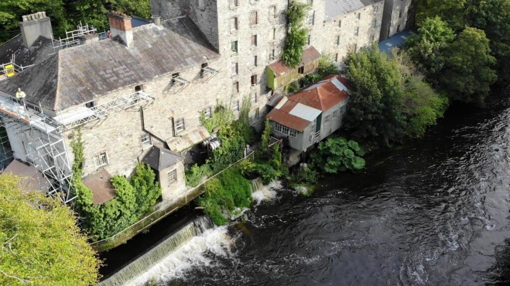 Conservation Works To Shackletons Mill